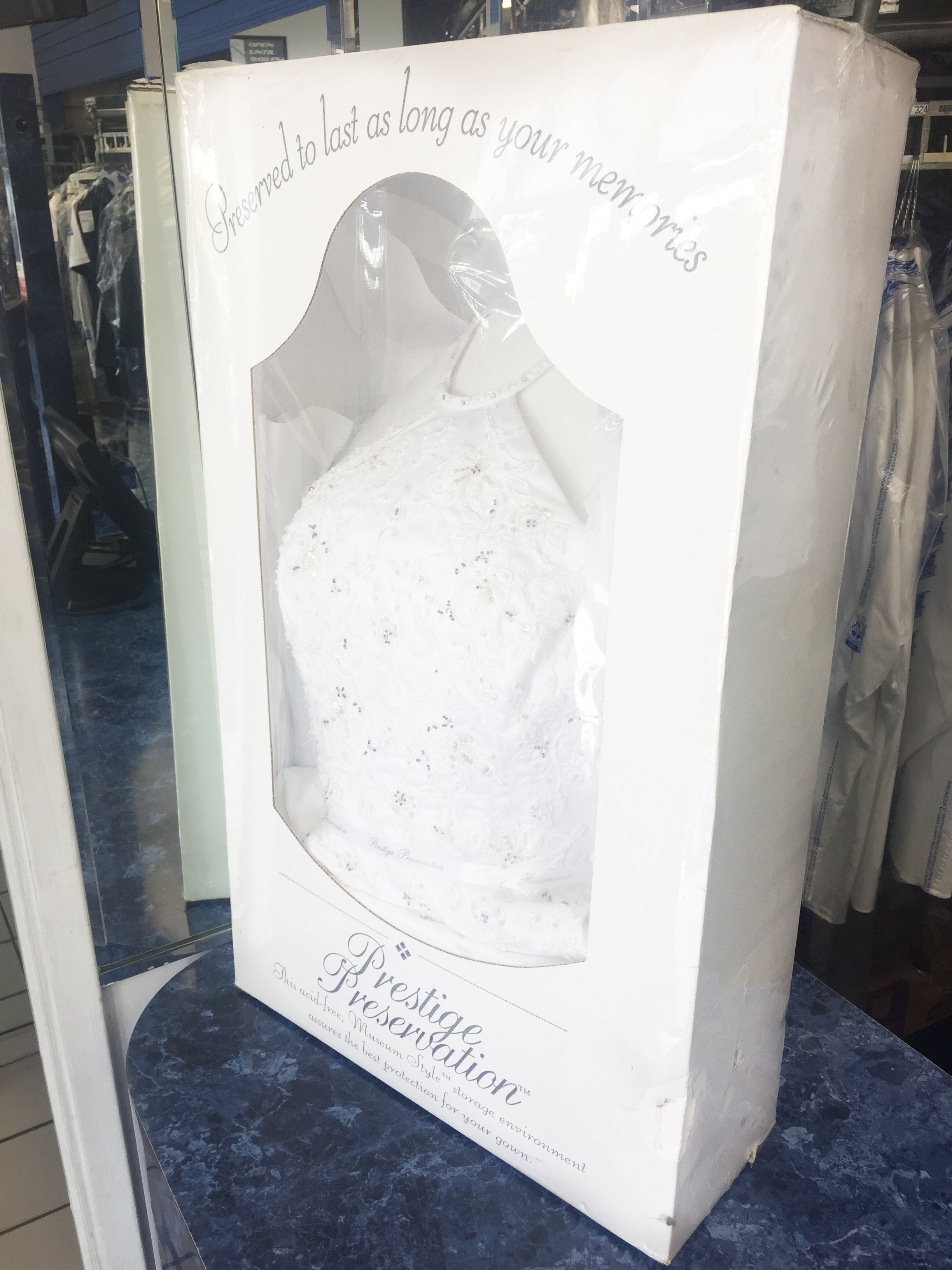 Wedding Gown Restoration and Preservations